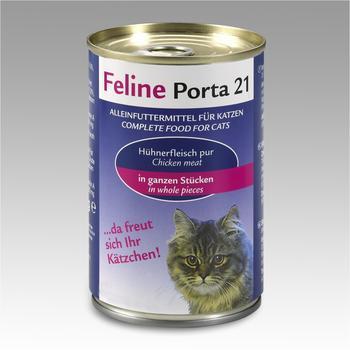 Porta Feline Porta 21 Thunfisch mit Breitling 24 x 400 g Katzenfutter