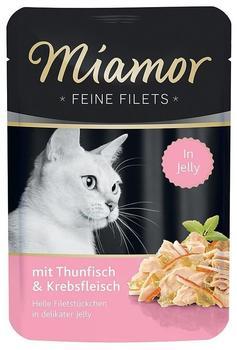 Miamor Feine Filets Thunfisch & Krebs 100g