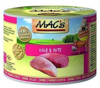 MACs Kalb & Pute 6 x 800 g