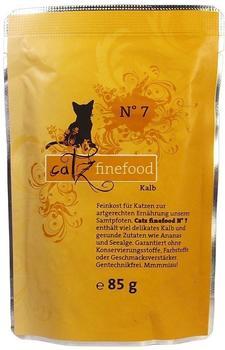Catz finefood No.7 Kalb (85 g)