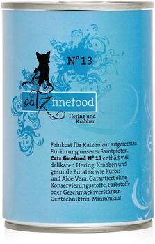 Catz finefood No.13 Hering & Krabben (400 g)
