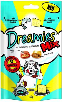 Dreamies Mix mit Lachs Käse (6 x 60 g)