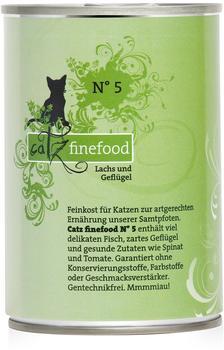 Catz finefood No.5 Lachs (400 g)