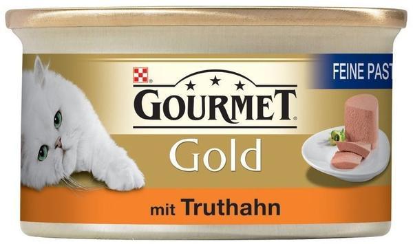 Gourmet Gold Feine Pastete Truthahn 12 x 85 g