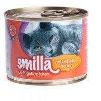 Smilla Geflügeltöpfchen mit Geflügelherzen 6 x 200 g