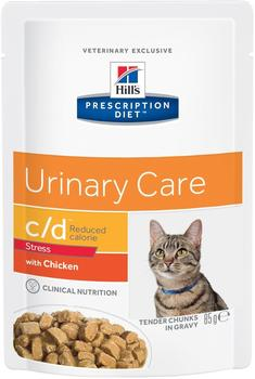 Hills Prescription Diet Feline c/d Urinary Stress Huhn 12 x 85 g