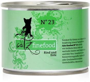 Catz finefood No.23 Rind & Ente (200 g)