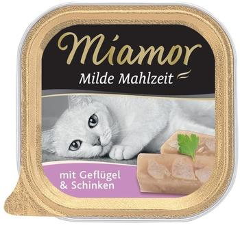 Miamor Milde Mahlzeit Geflügel & Schinken 100g