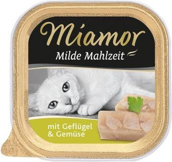 Miamor Milde Mahlzeit Geflügel & Gemüse 100g