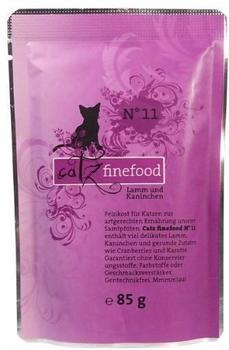 Catz finefood No.11 Lamm & Kaninchen (85 g)