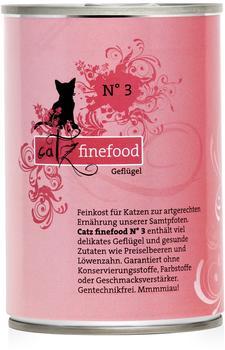Catz finefood Classic No.3 Geflügel (6x 400g)