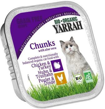 Yarrah Bröckchen Huhn & Truthahn (100 g)