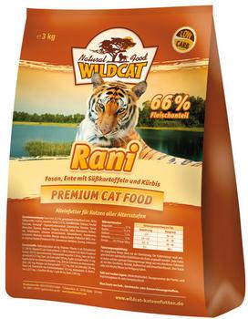 Wildcat Natural Food Cat Rani mit Fasan & Ente (3 kg)