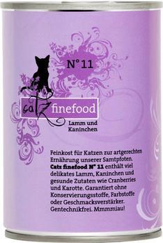 Catz finefood Classic No.11 Lamm & Kaninchen (6x 400 g)