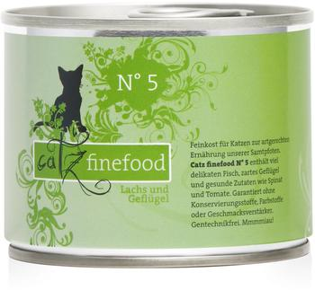 Catz finefood No.5 Lachs (200 g)
