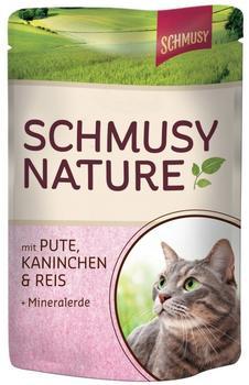 Schmusy Natures Menü Pute & Kaninchen (100 g)