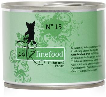 Catz finefood No. 15 Huhn & Fasan 6 x 200 g