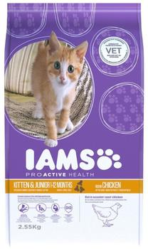 IAMS Kitten & Junior (2,55 kg)