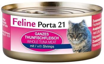 Porta Feline 21 Thunfisch mit Shrimps in Gelee (156 g)