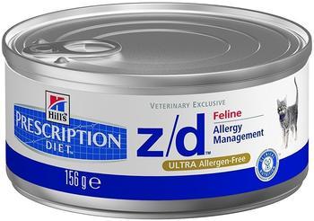 Hill's Prescription Diet Feline z/d Low Allergen (156 g)
