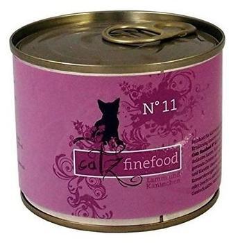 Catz finefood No.11 Lamm & Kaninchen (200 g)