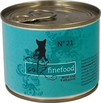 Catz finefood No.21 Wild & Rotbarsch (200 g)