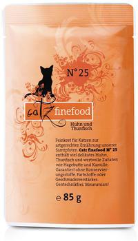 Catz finefood No.25 Huhn & Thunfisch (85 g)