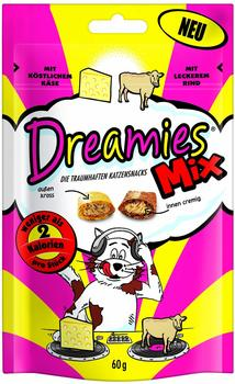 Dreamies Mix Käse & Rind 6 x 60 g