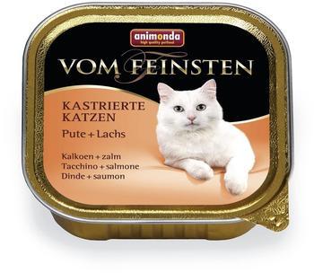 Animonda vom Feinsten kastrierte Katzen Pute+Lachs (100 g)