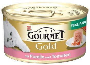 Gourmet Gold Feine Pastete Forelle & Tomaten (85 g)