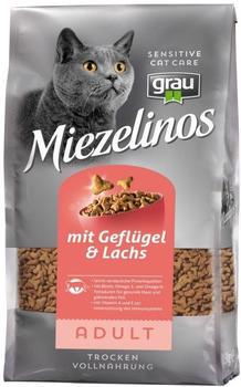 Grau Miezelinos Adult mit Geflügel und Lachs (2,5 kg)