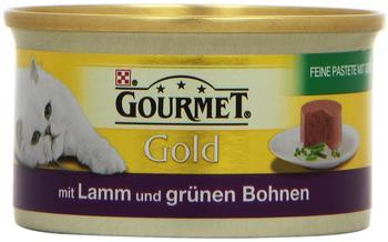 Gourmet Gold Feine Pastete Lamm & grüne Bohnen 12 x 85 g