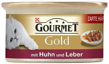 Gourmet Gold Zarte Häppchen in Sauce Huhn & Leber (85 g)