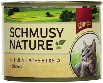 Schmusy Natures Menü Huhn & Lachs (190 g)