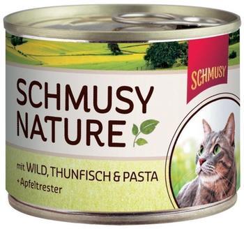 Schmusy Natures Menü Wild & Thunfisch (190 g)