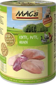MACs Ente, Pute & Huhn 200 g