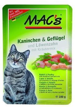 MACs Kaninchen, Geflügel & Löwenzahn 100 g