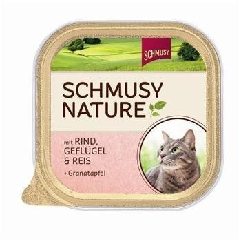 Schmusy Natures Menü Schale Rind, Geflügel & Reis 100 g