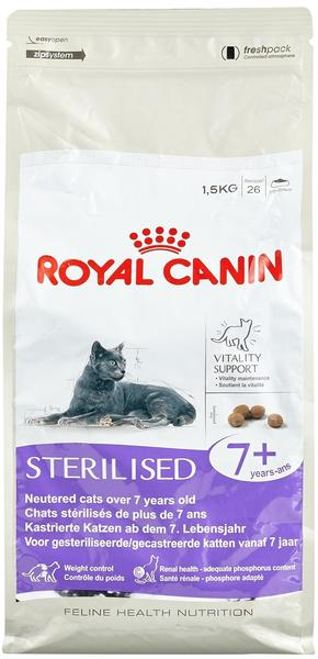 Royal Canin Sterilised +7 (1,5 kg)
