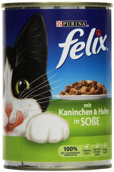 Felix Leckerbissen in Soße Kaninchen & Huhn (400 g)