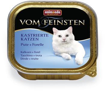 Animonda vom Feinsten kastrierte Katzen Pute+Forelle (100 g)
