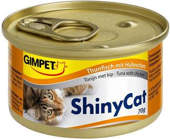 Gimpet Shiny Cat Thunfisch mit Hühnchen (70 g)