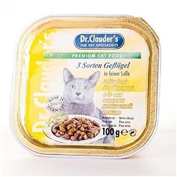 Dr. Clauders 3 Sorten Geflügel in Soße 100 g