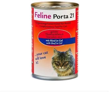 Porta Feline 21 Thunfisch mit Rind (400 g)