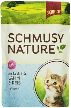 schmusy-katzenfutter-natures-menue-fuer-kitten-mit-lachs-100-g-24er-pack-24-x-100-g