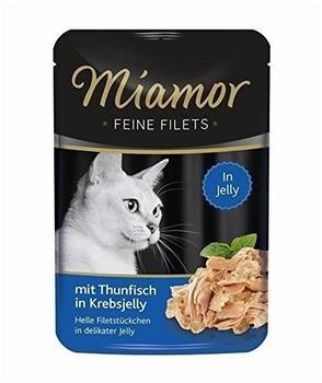 Miamor Feine Filets Thunfisch in Krebsjelly 24 x 100 g