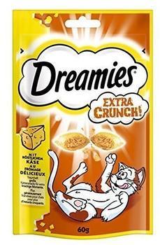 Dreamies Extra Crunch Katzensnack, Käse - 60 g