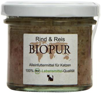 Biopur Rind & Reis 12 x 100 g