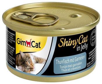 Gimpet Shiny Cat Thunfisch mit Garnelen (70 g)