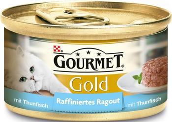 Gourmet x 85 g Gourmet Gold Raffiniertes Ragout, Thunfisch